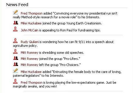 Republican Facebook Feed