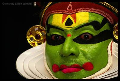 Kathakali performer - Laxman