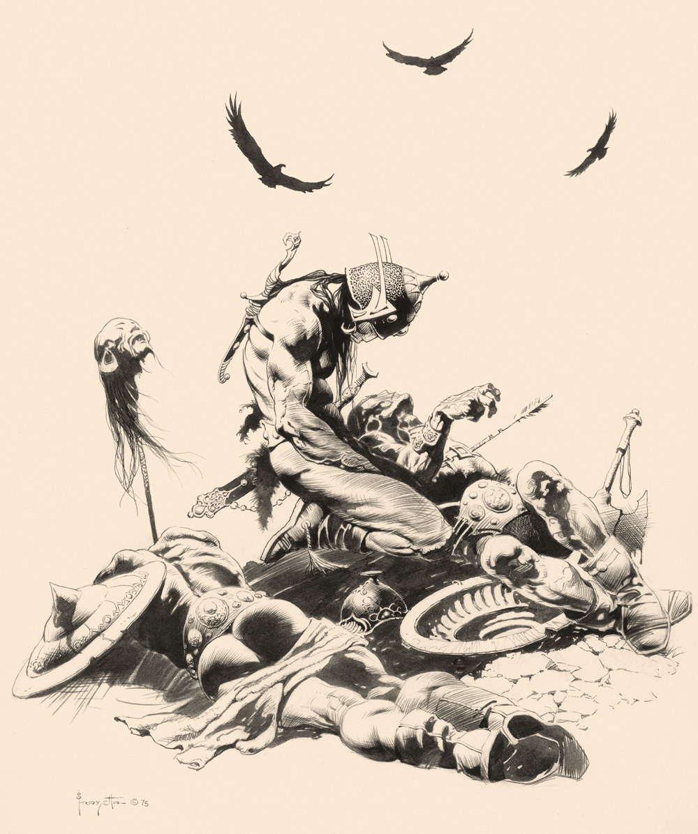 Frazetta Auction – and French Academic Art — Crooked Timber